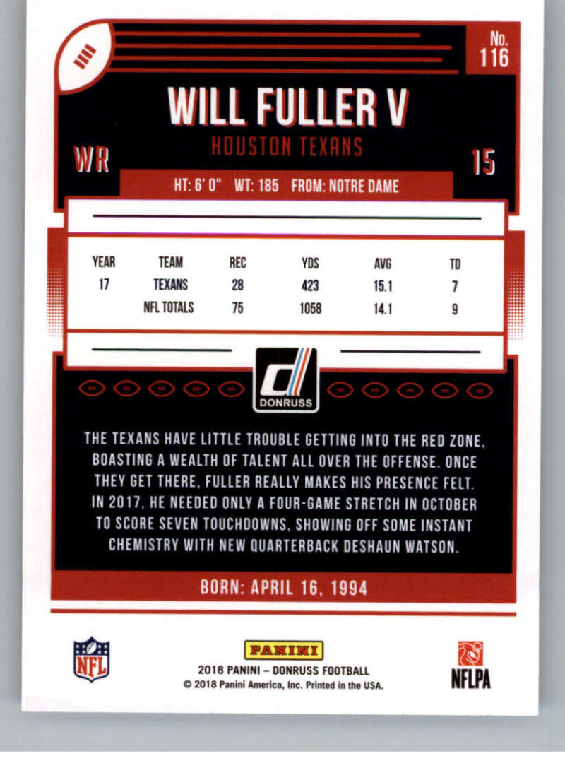 2018-Donruss-Football-Card-Singles-NFL-You-Pick-1-150 thumbnail 211
