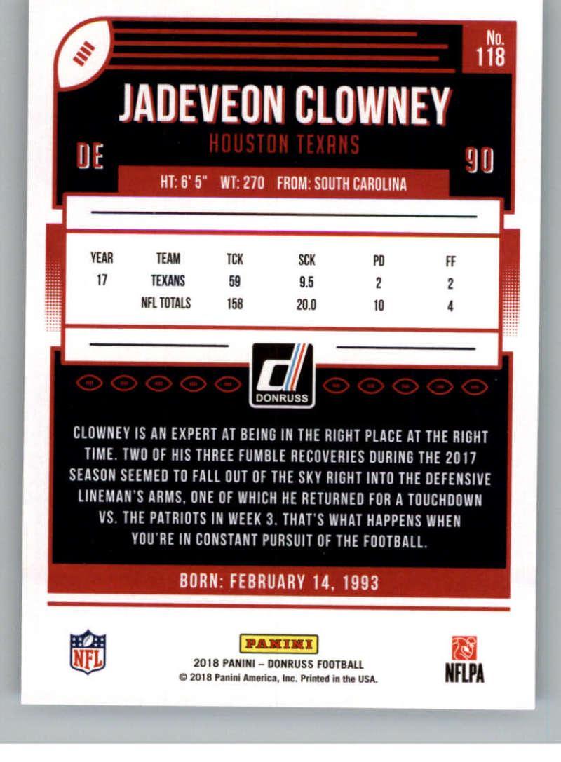 2018-Donruss-Football-Card-Singles-NFL-You-Pick-1-150 thumbnail 215