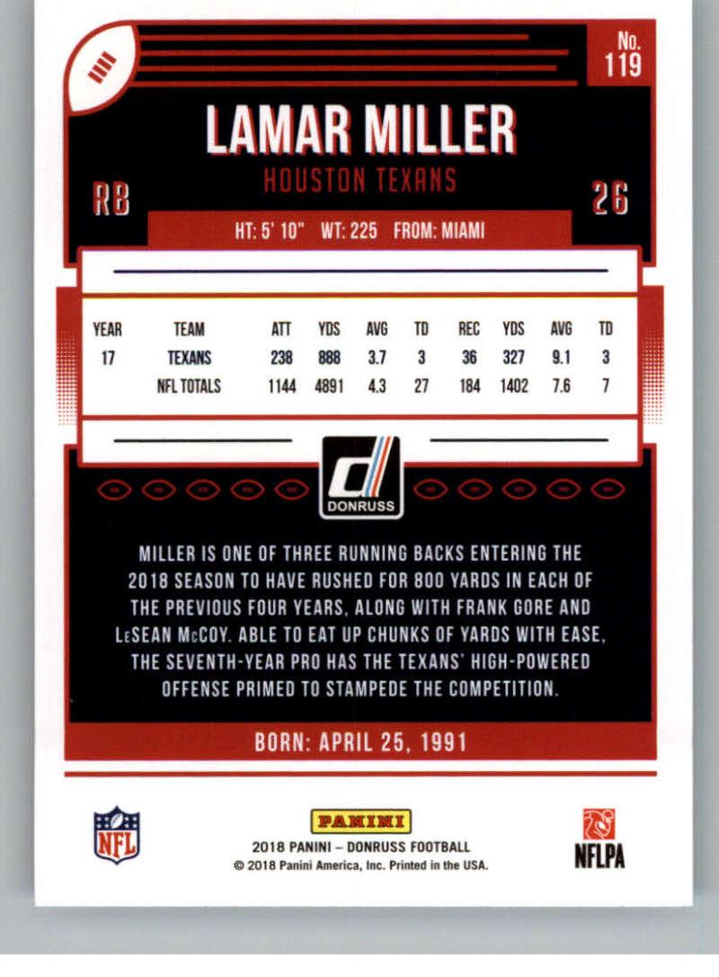 2018-Donruss-Football-Card-Singles-NFL-You-Pick-1-150 thumbnail 217