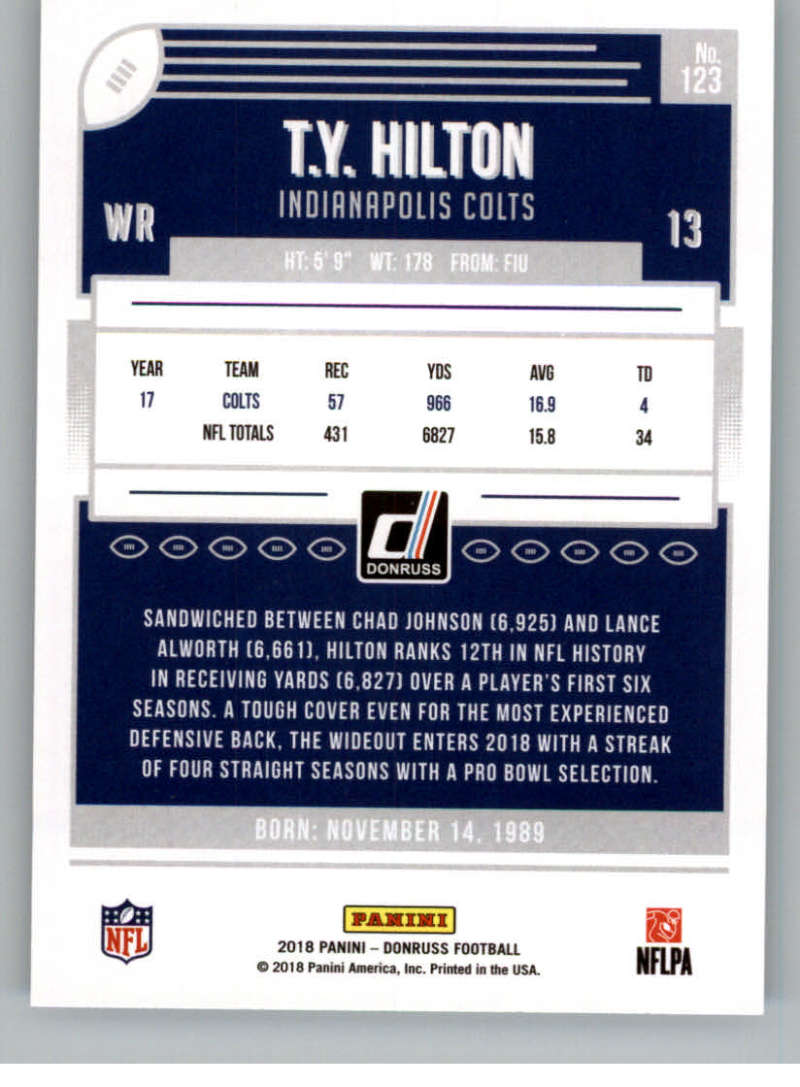 2018-Donruss-Football-Card-Singles-NFL-You-Pick-1-150 thumbnail 225