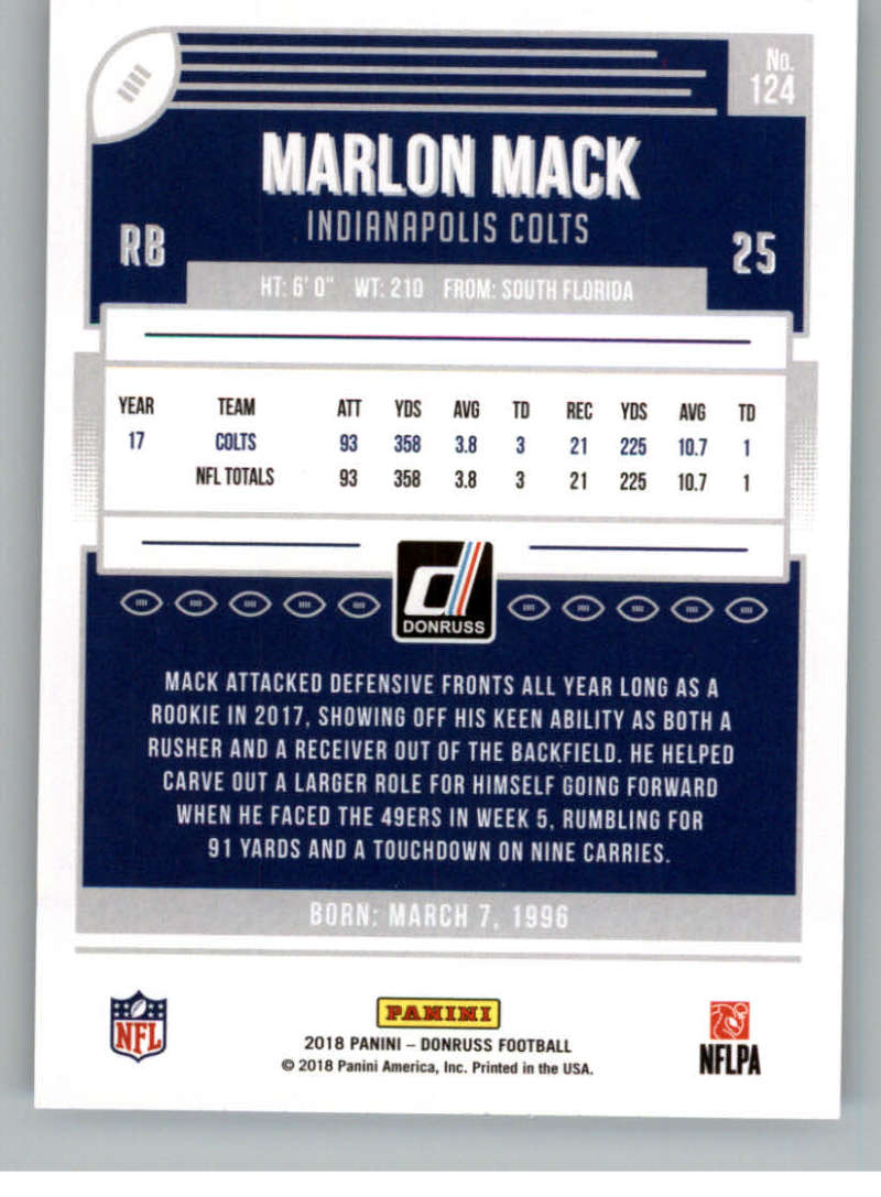 2018-Donruss-Football-Card-Singles-NFL-You-Pick-1-150 thumbnail 227