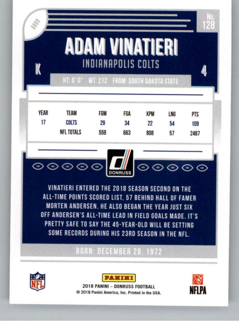 2018-Donruss-Football-Card-Singles-NFL-You-Pick-1-150 thumbnail 235