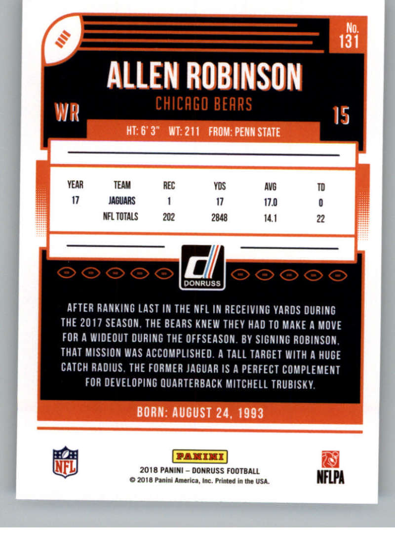 2018-Donruss-Football-Card-Singles-NFL-You-Pick-1-150 thumbnail 241
