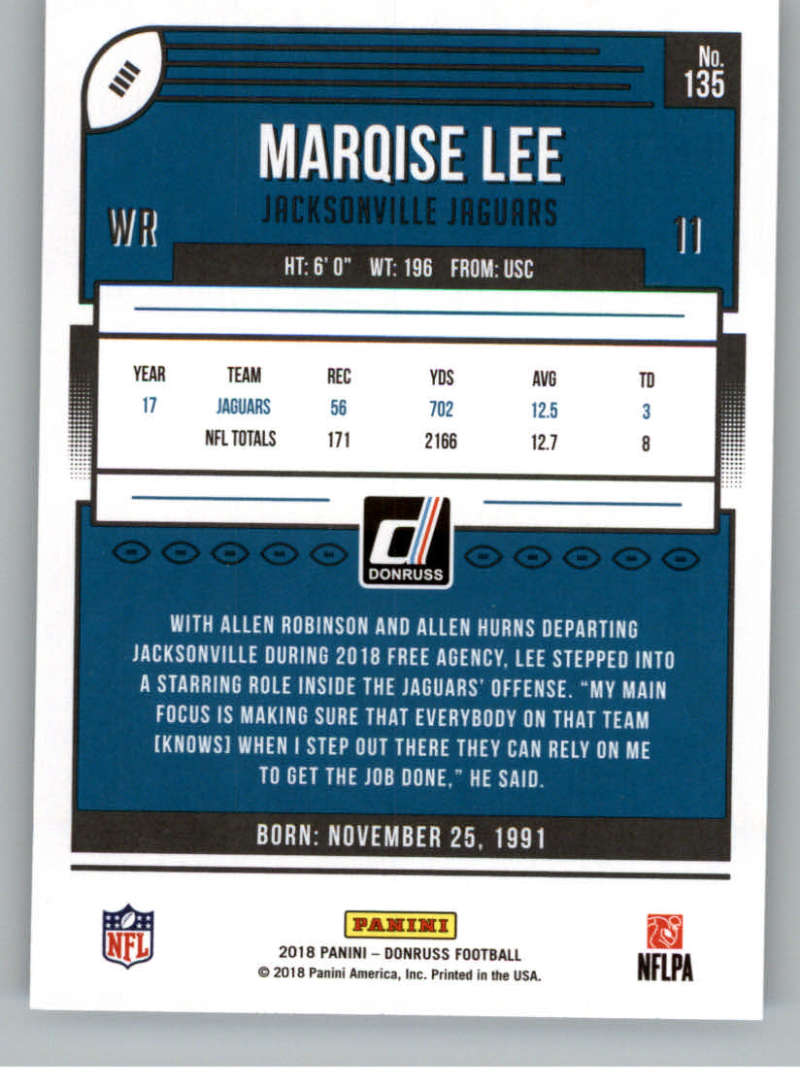 2018-Donruss-Football-Card-Singles-NFL-You-Pick-1-150 thumbnail 247