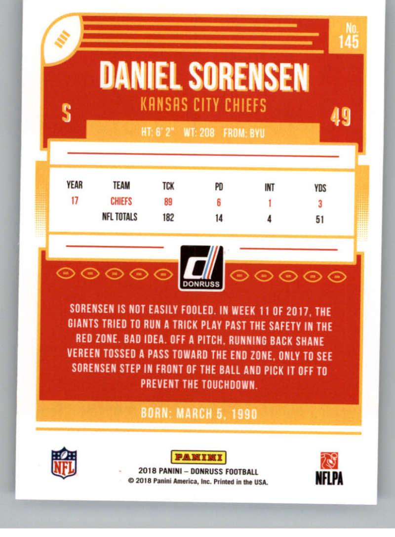 2018-Donruss-Football-Card-Singles-NFL-You-Pick-1-150 thumbnail 263