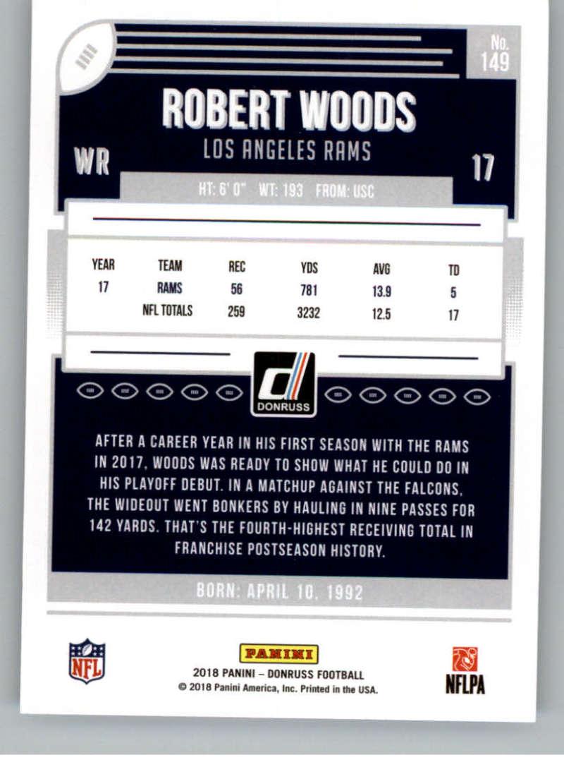 2018-Donruss-Football-Card-Singles-NFL-You-Pick-1-150 thumbnail 269