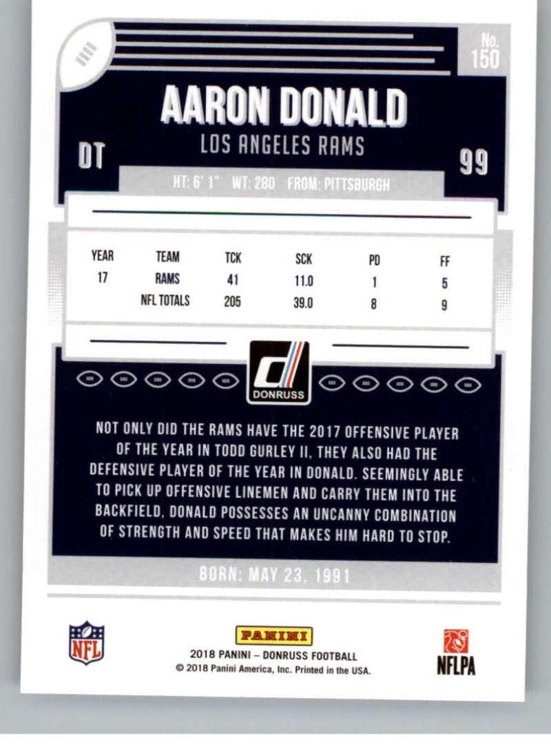 2018-Donruss-Football-Card-Singles-NFL-You-Pick-1-150 thumbnail 271