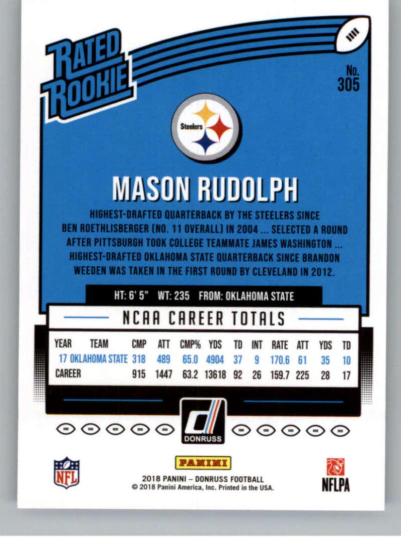 2018-Donruss-Football-Rookies-amp-Rated-Rookies-RC-Card-Singles-You-Pick miniature 5
