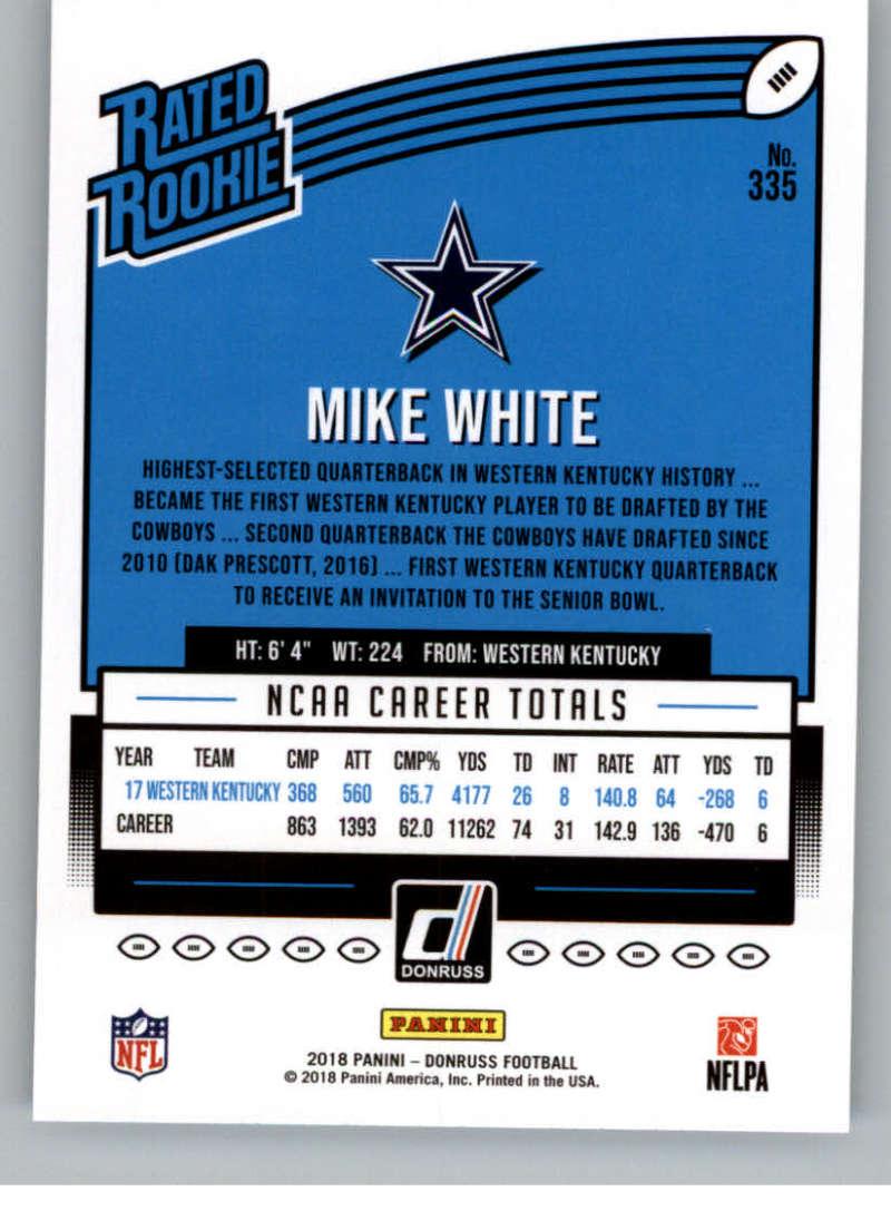 2018-Donruss-Football-Rookies-amp-Rated-Rookies-RC-Card-Singles-You-Pick miniature 23