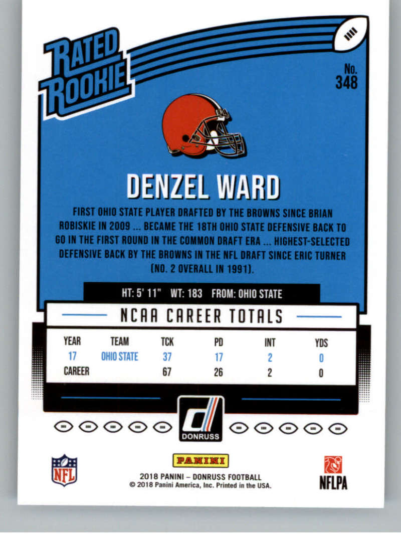2018-Donruss-Football-Rookies-amp-Rated-Rookies-RC-Card-Singles-You-Pick miniature 43