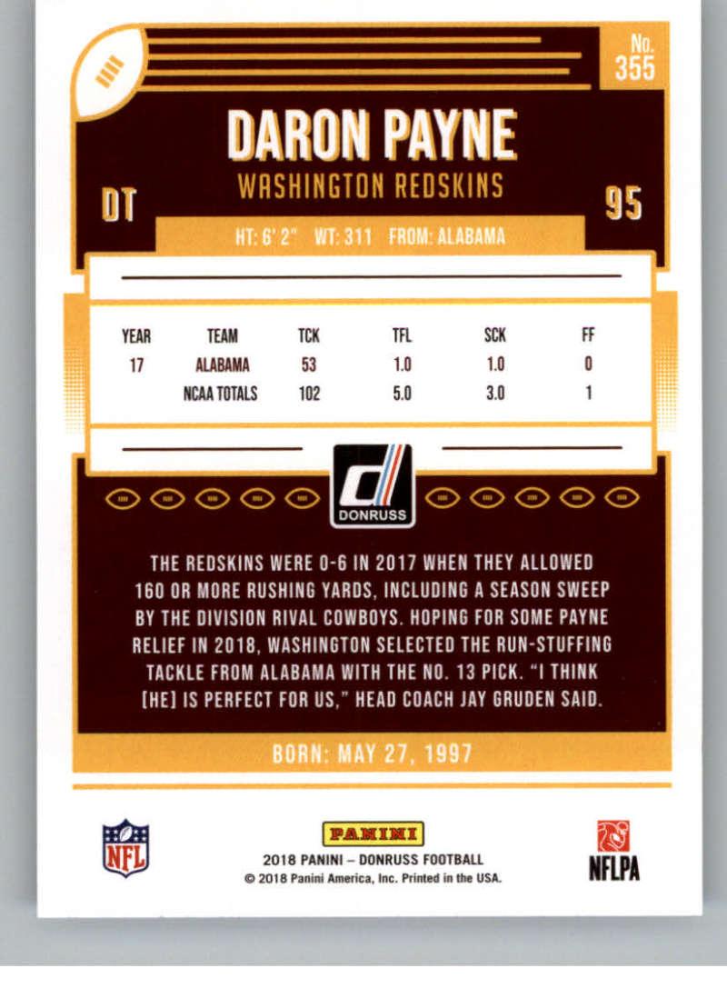 2018-Donruss-Football-Rookies-amp-Rated-Rookies-RC-Card-Singles-You-Pick miniature 53