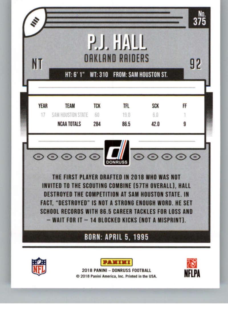 2018-Donruss-Football-Rookies-amp-Rated-Rookies-RC-Card-Singles-You-Pick miniature 71