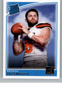 2018 Donruss #303 Baker Mayfield Rated Rookie RC Rookie Cleveland Browns