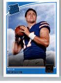 2018 Donruss #304 Josh Allen Rated Rookie RC Rookie Buffalo Bills