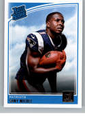 2018 Donruss Football #310 Sony Michel RC Rookie Card New England Patriots Rated Rookie Official NFL Trading Card