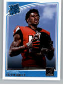 2018 Donruss Football #311 Calvin Ridley RC Rookie Card Atlanta Falcons Rated Rookie Official NFL Trading Card