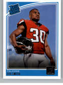 2018 Donruss Football #340 Ito Smith RC Rookie Card Atlanta Falcons Rated Rookie Official NFL Trading Card