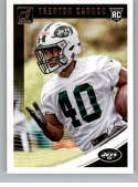 2018 Donruss Football #400 Trenton Cannon RC Rookie Card New York Jets Rookie Official NFL Trading Card