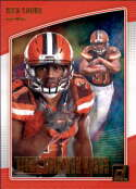 2018 Donruss Rookie Gridiron Kings Football #8 Nick Chubb Cleveland Browns  Official NFL Trading Card