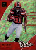 2018 Donruss The Rookies Football #8 Nick Chubb Cleveland Browns  Official NFL Trading Card