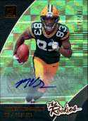 2018 Donruss The Rookies Autographs Football Card #36 Marquez Valdes-Scantling NM-MT Auto Autograph SER/499 Green Bay Pa Official NFL Trading Card