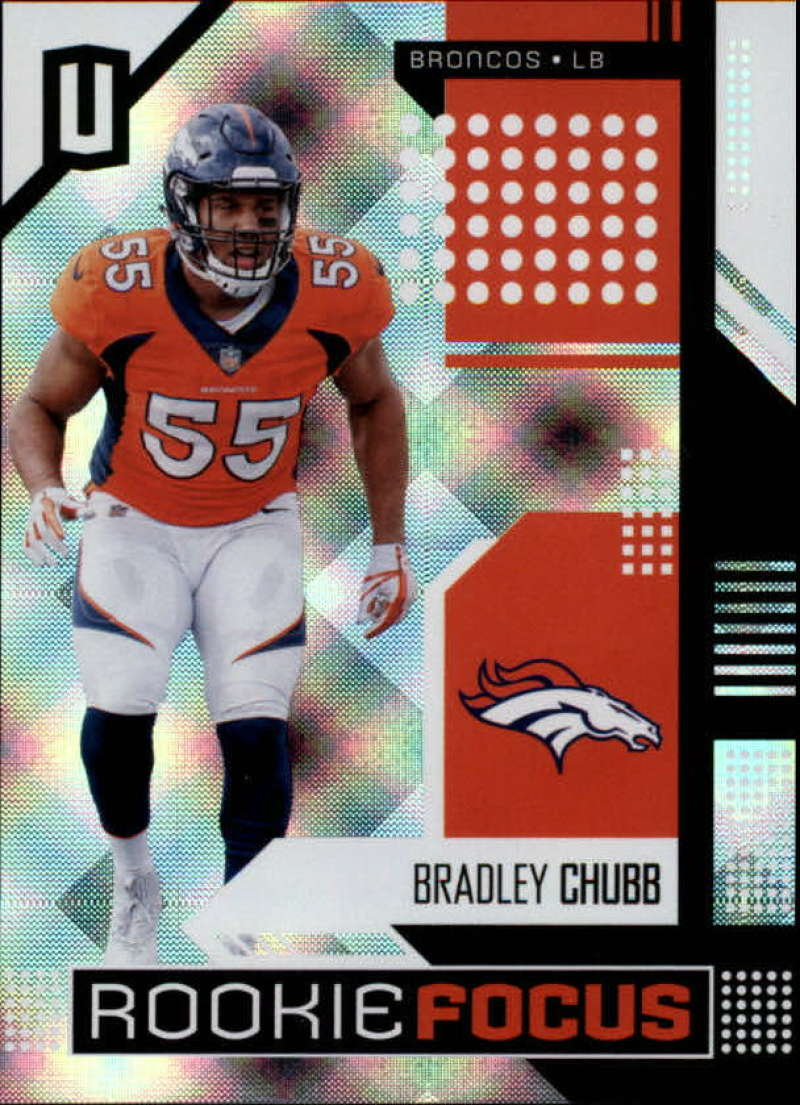2018 Panini Unparalleled Rookie Focus