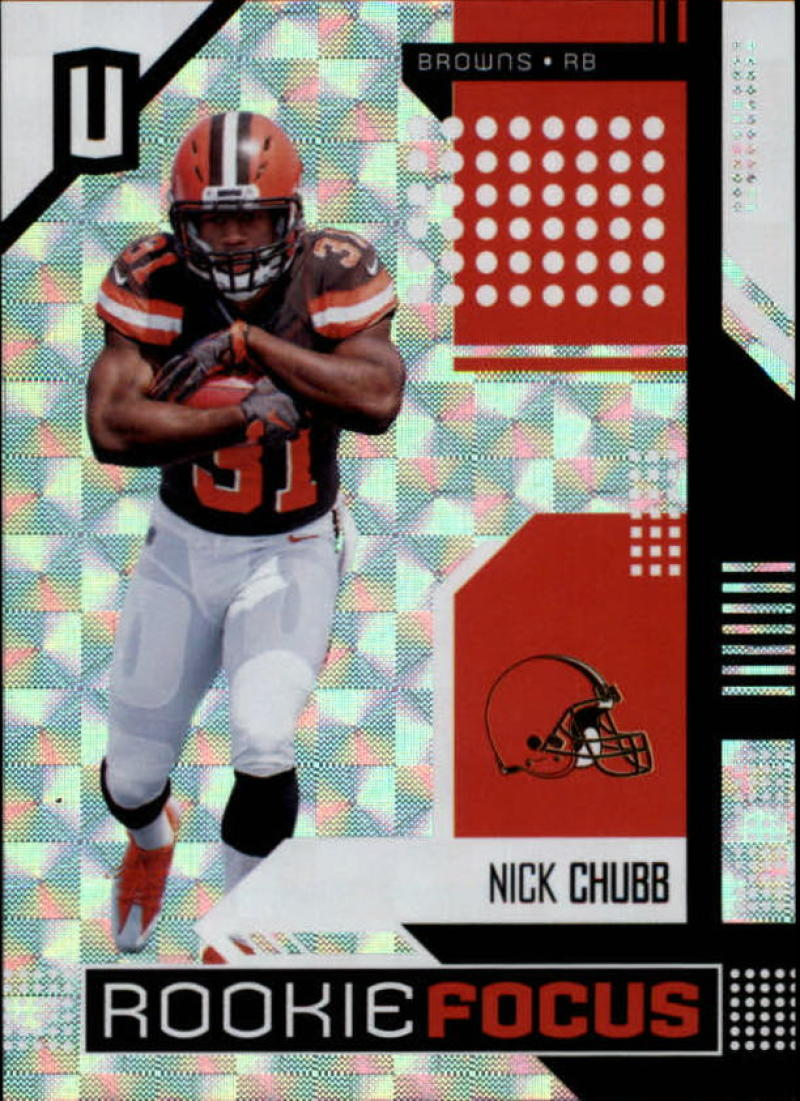 2018 Panini Unparalleled Rookie Focus Hyper