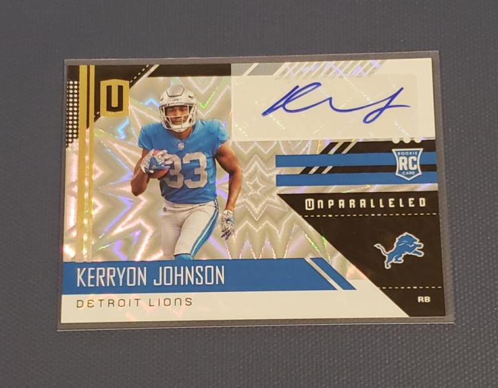 2018 Panini Unparalleled Rookie Signatures Burst