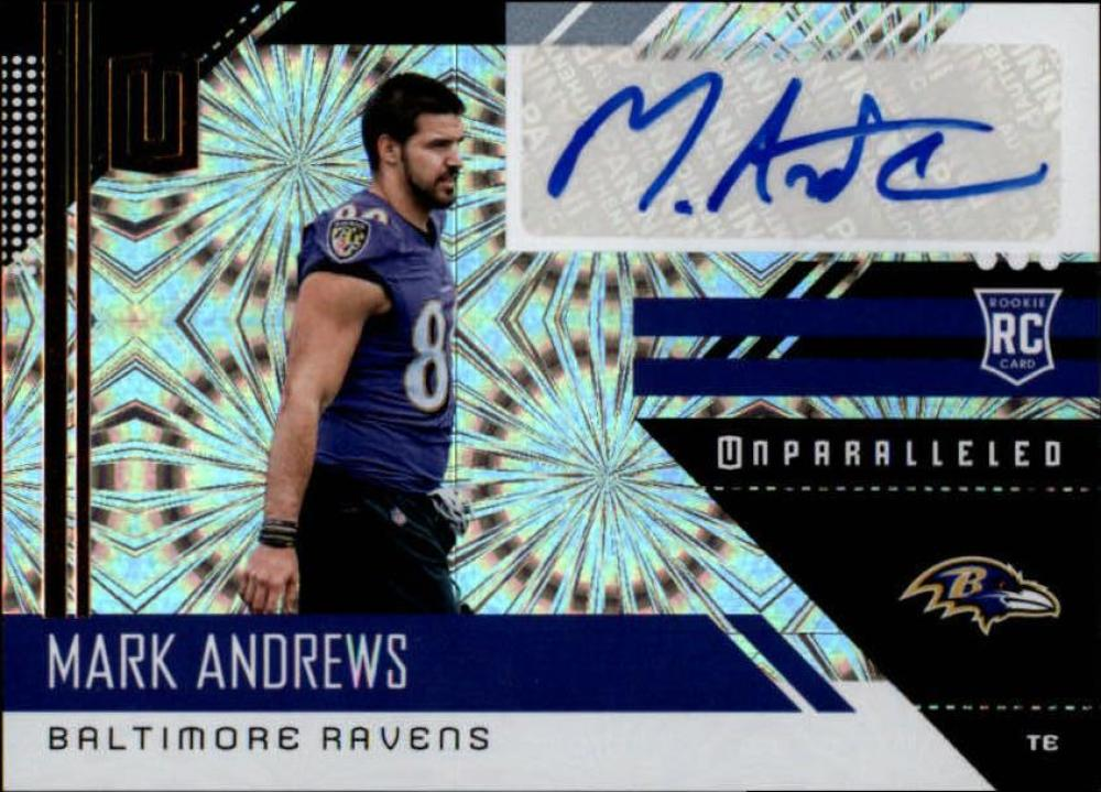 2018 Panini Unparalleled Rookie Signatures Fireworks