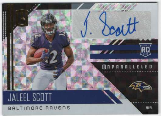 2018 Panini Unparalleled Rookie Signatures Hyper
