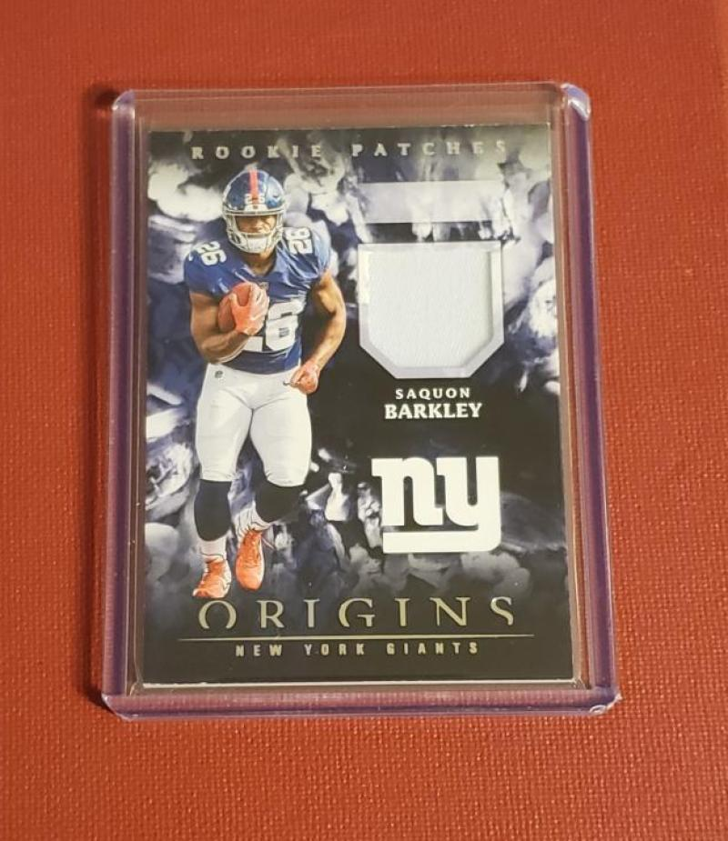 2018 Panini Origins Rookie Patches