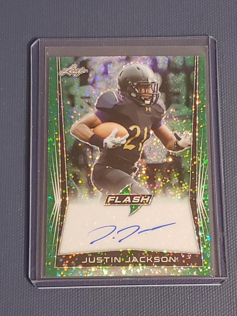 2018 Leaf Flash Autographs Green