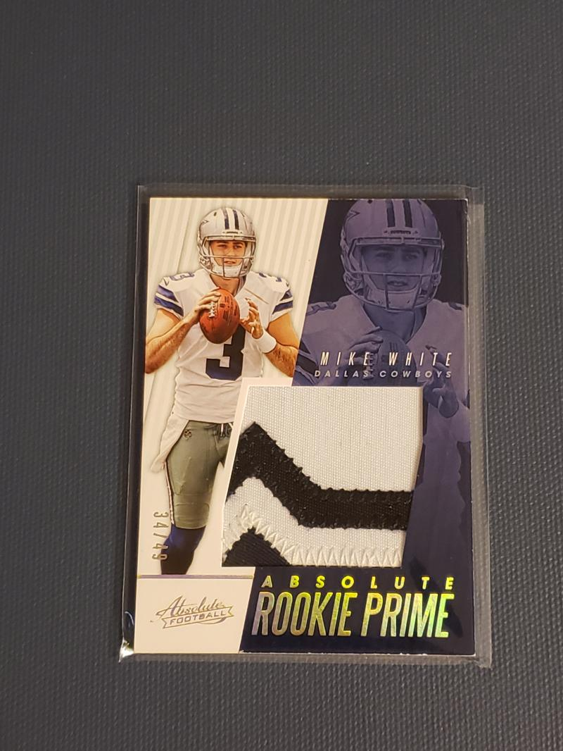 2018 Panini Absolute Rookie Jerseys Patches