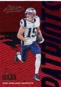 2018 Panini Absolute #66 Chris Hogan NM-MT New England Patriots
