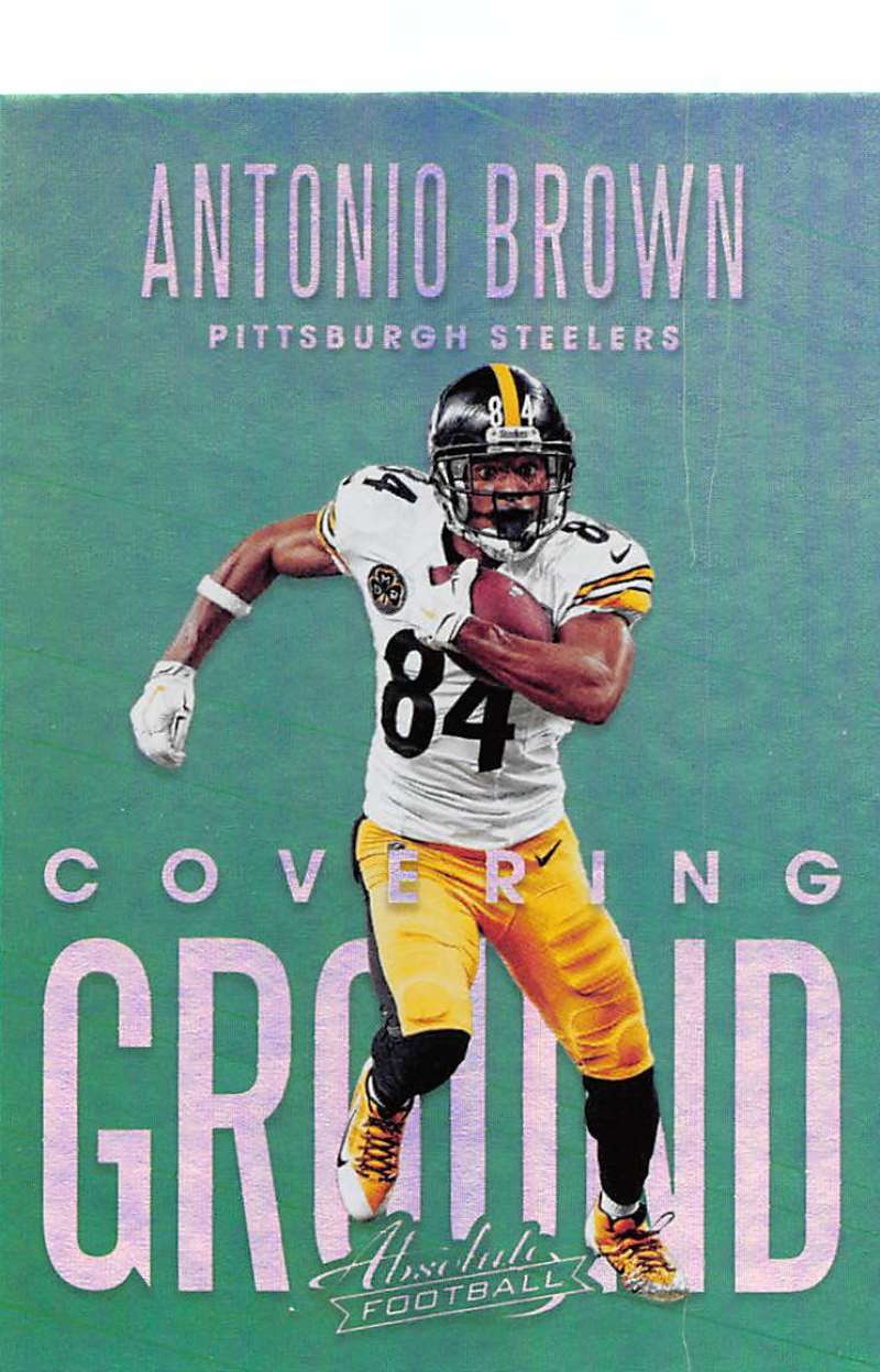 2018 Panini Absolute Covering Ground