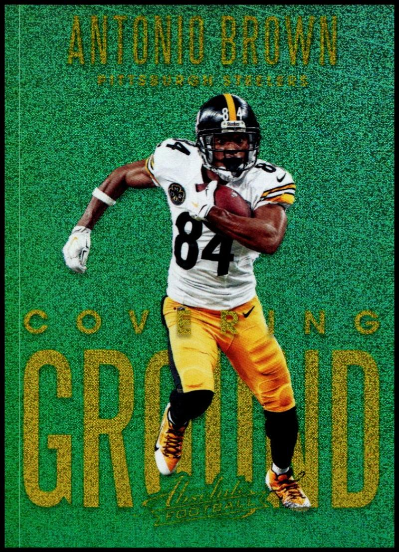 2018 Panini Absolute Covering Ground Spectrum Gold