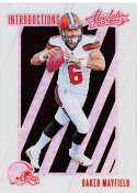 2018 Absolute Football Introductions #3 Baker Mayfield Cleveland Browns  RC Rookie Card