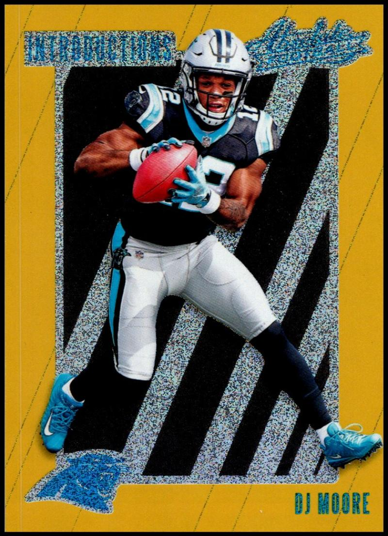 0615a8df 2018 Panini Absolute Introductions Spectrum Gold Football Checklist ...