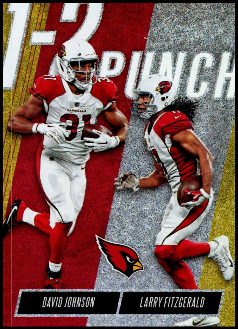 2018 Panini Absolute One Two Punch Spectrum Gold