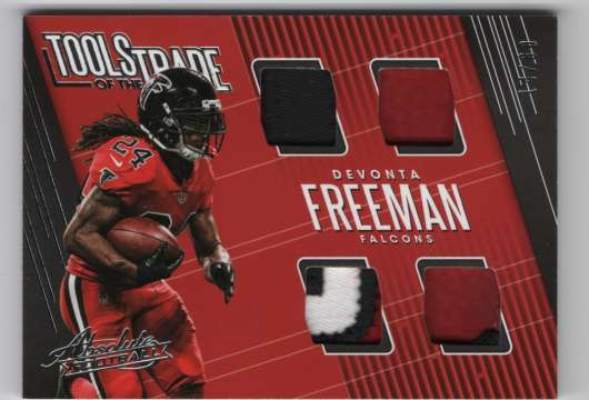 2018 Panini Absolute Tools of the Trade Quad