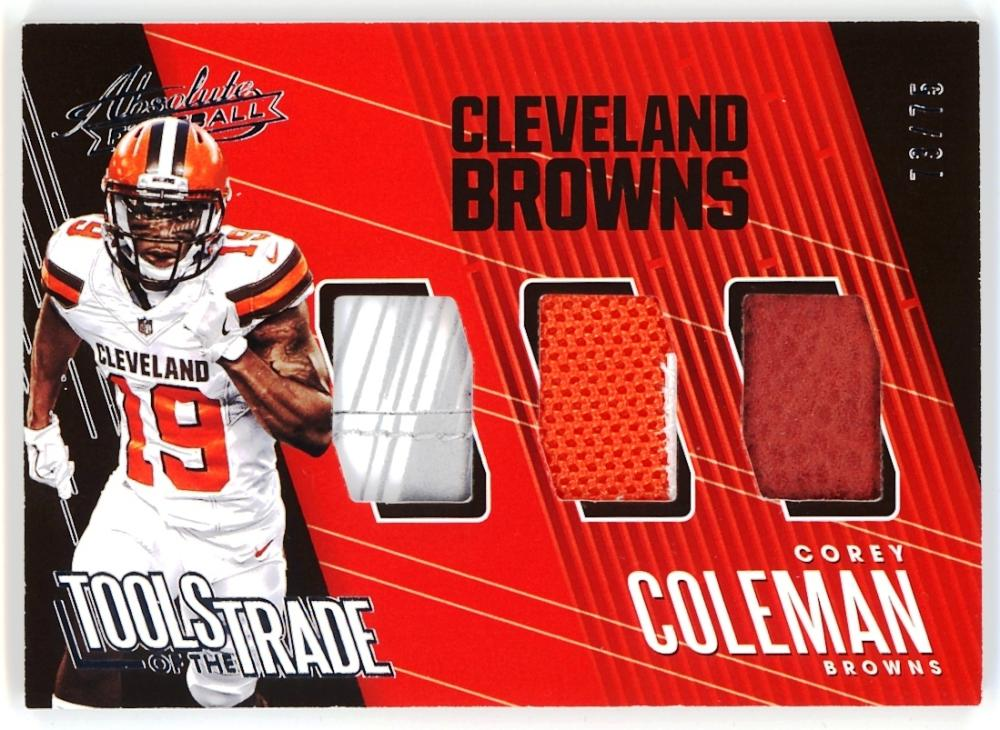 2018 Panini Absolute Tools of the Trade Triple