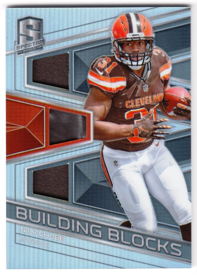 2018 Panini Spectra Building Blocks