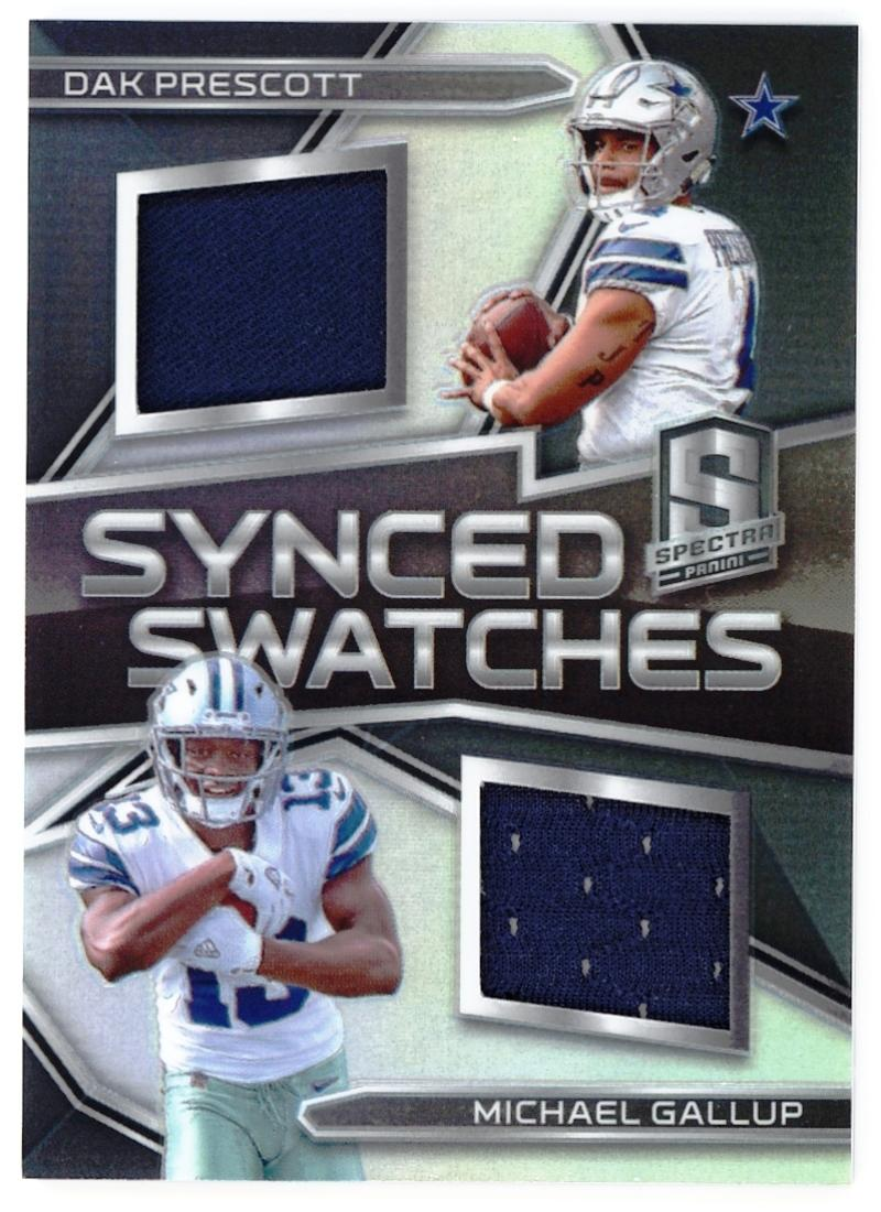 2018 Panini Spectra Synced Swatches