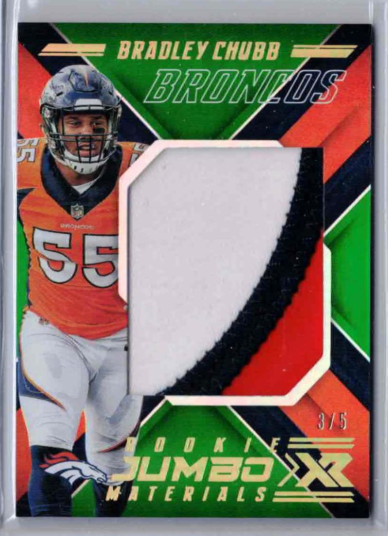 2018 Panini Xr Rookie Jumbo Materials Green