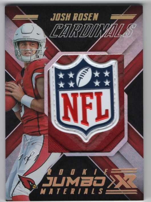2018 Panini Xr Rookie Jumbo Materials Super Prime