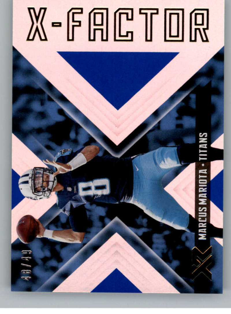 2018 Panini Xr X-Factor Blue
