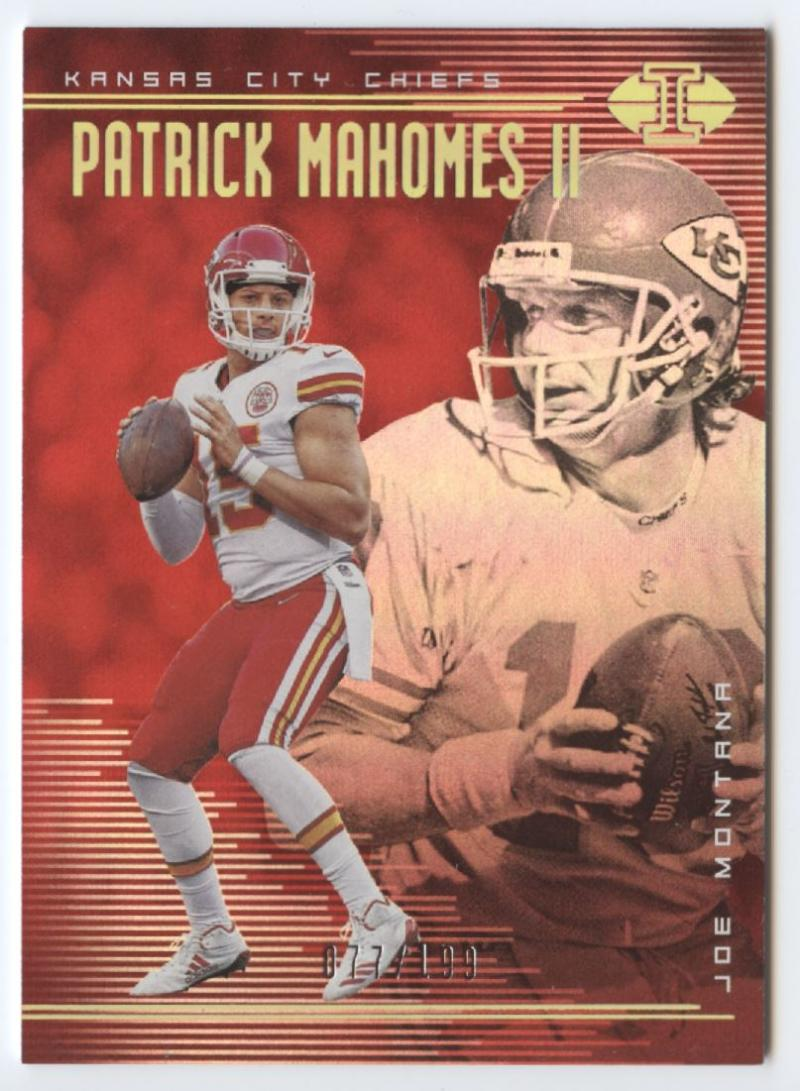 2018 Panini Illusions Trophy Collection Red