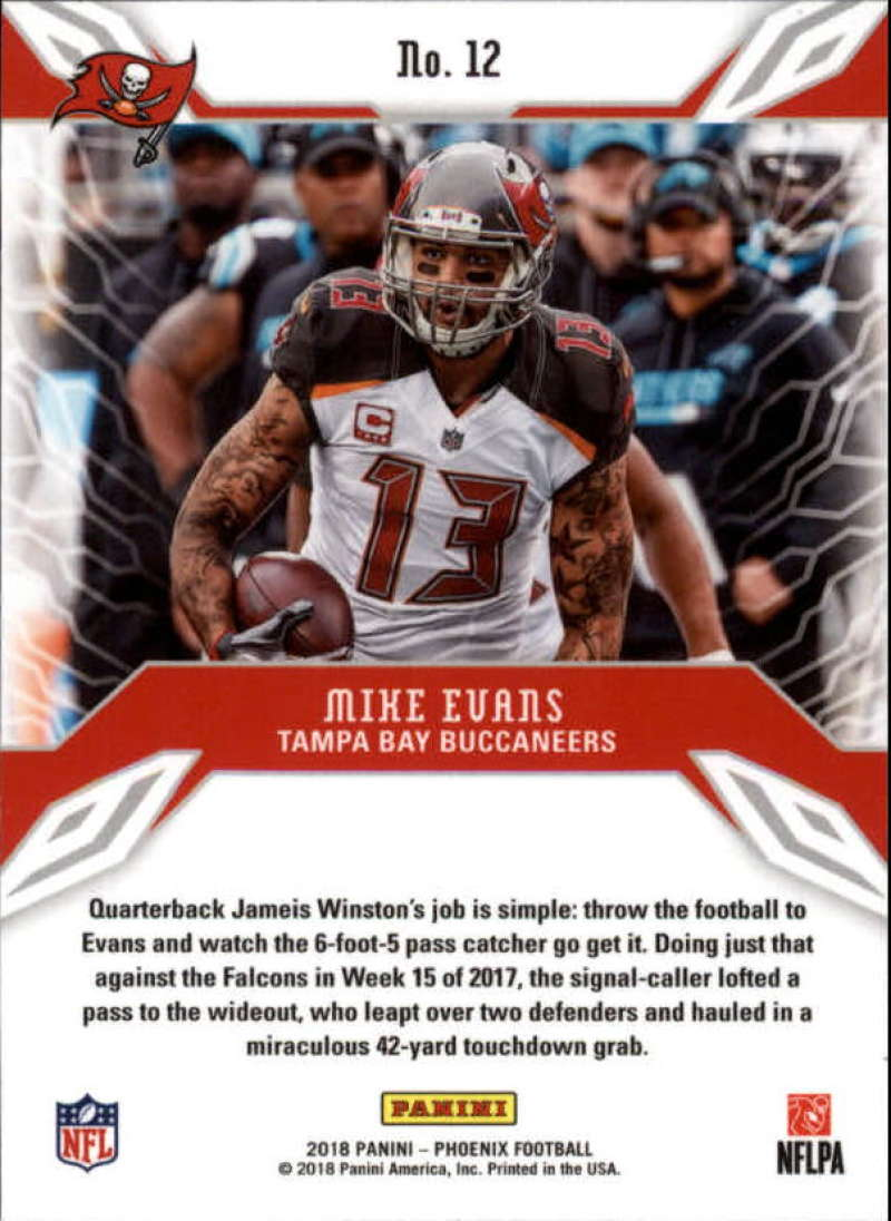2018-Panini-PHOENIX-Football-Base-w-Inserts-and-Parallels-Pick-Your-Cards-Lot thumbnail 5