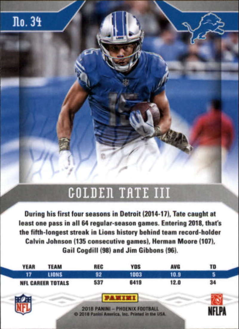 2018-Panini-PHOENIX-Football-Base-w-Inserts-and-Parallels-Pick-Your-Cards-Lot thumbnail 59