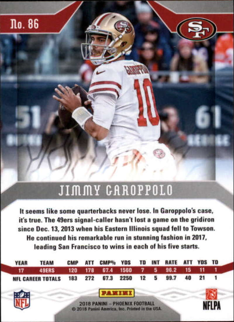 2018-Panini-PHOENIX-Football-Base-w-Inserts-and-Parallels-Pick-Your-Cards-Lot thumbnail 119